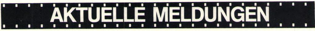Aktuelle Meldungen AAC Magazin 8-1983