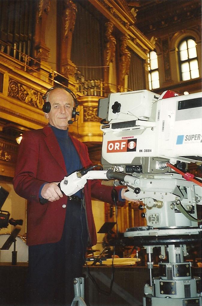Helmut Fibich beim Neujahrskonzert