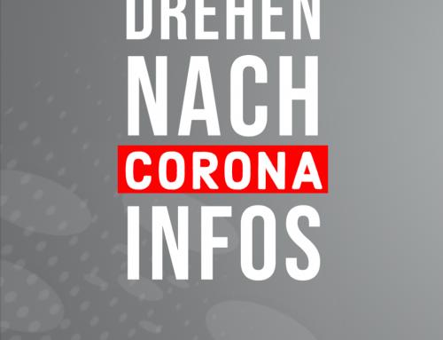 Informationen: Wiederaufnahme von Dreharbeiten nach Corona