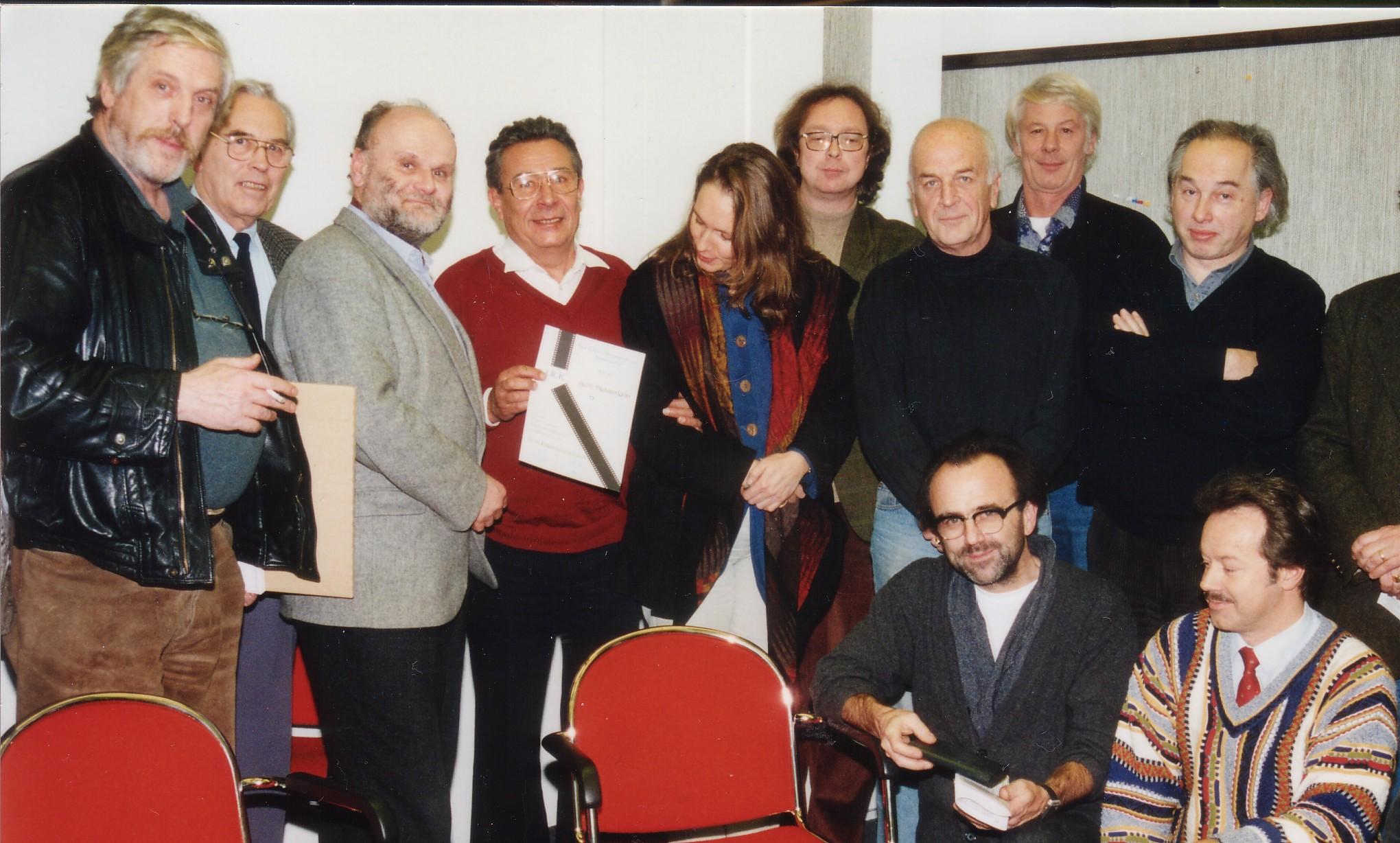 Ehrenmitgliedschaft an Heinz Brossmann