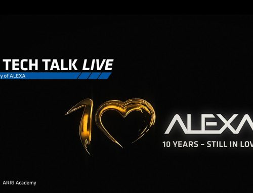 ARRI Webinar – ARRI TECH TALK Live