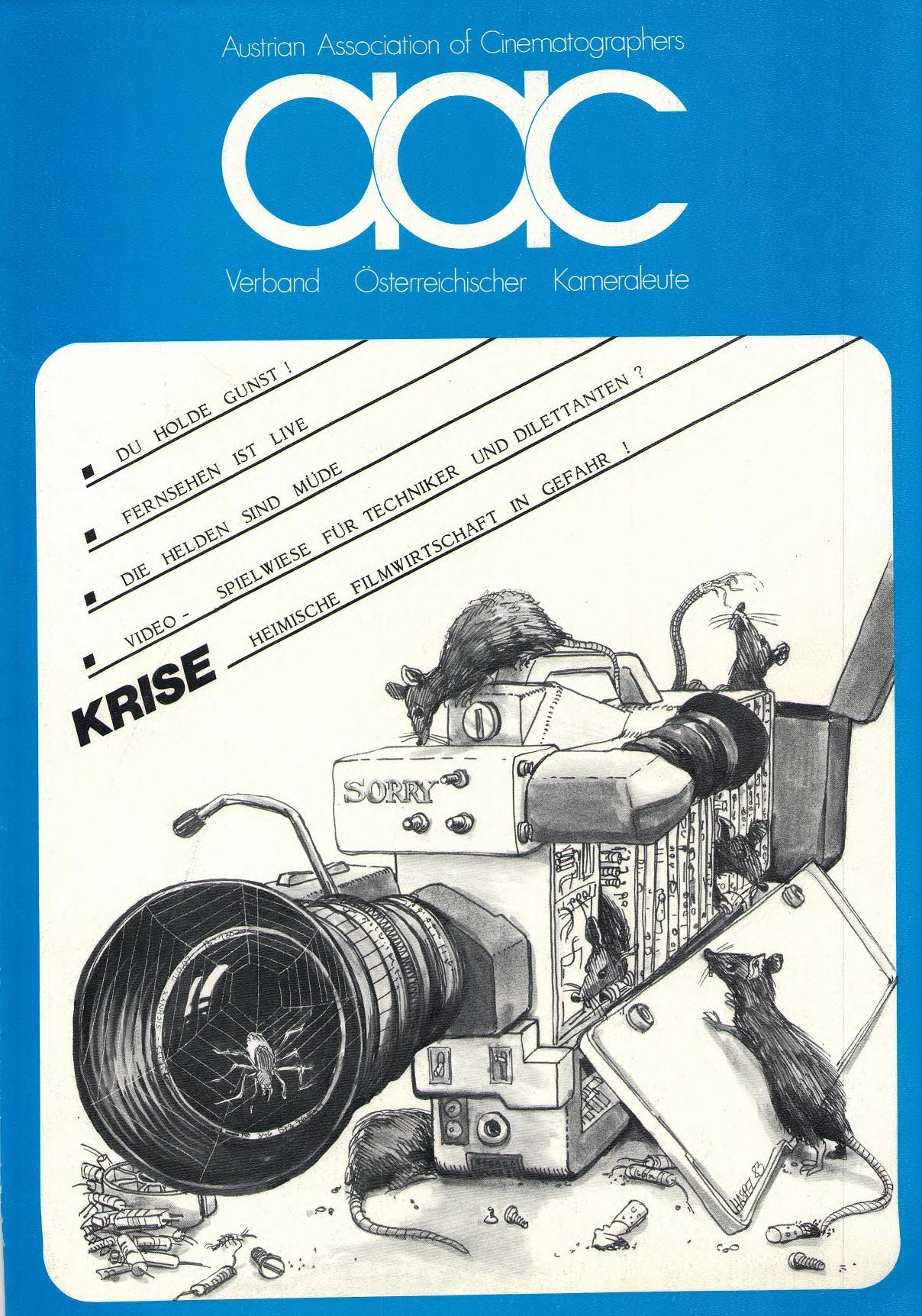 Titelblatt des AAC Magazin 8-1983